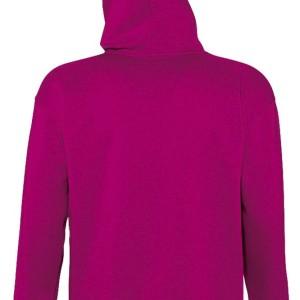 Толстовка с капюшоном SLAM 320, ярко-розовая (фуксия)