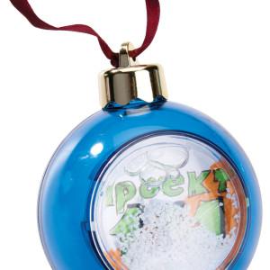 Елочный шар-шкатулка, синий
