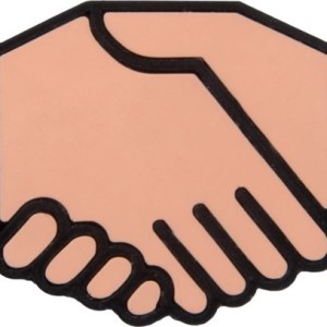 Флешка «Рукопожатие»