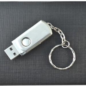 Флешка металлическая под логотип METALTWISTER 16 ГБ, металл