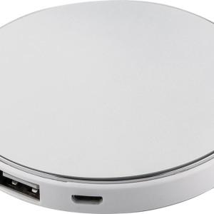 Внешний аккумулятор с подсветкой логотипа Uniscend Disc