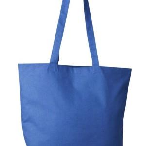 Холщовая сумка Optima 135, темно-синяя