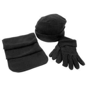 """Флисовый набор """"Metel"""" шапка, шарф, перчатки"""
