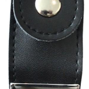 Leather подарочная флешка 8Гб