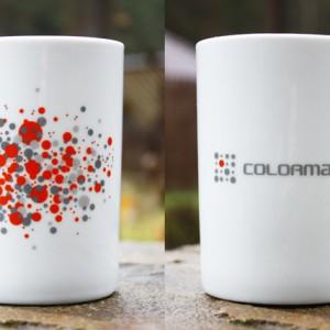 Кружка с логотипом для Colormarket