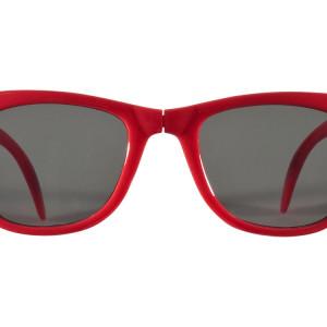 """Очки солнцезащитные """"Sun Ray"""" складные, красный"""