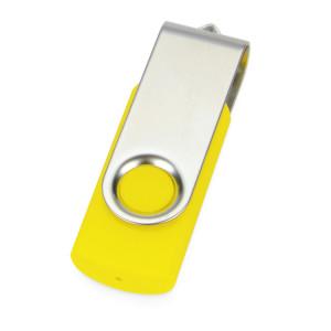 Флеш-карта USB 2.0 4 Gb «Квебек», желтый