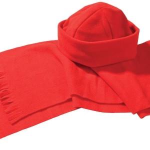 Комплект Unit Fleecy: шарф и шапка