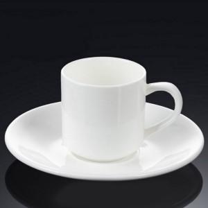 Чашка с блюдцем для кофе