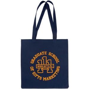 Холщовая сумка Basic 105, синяя