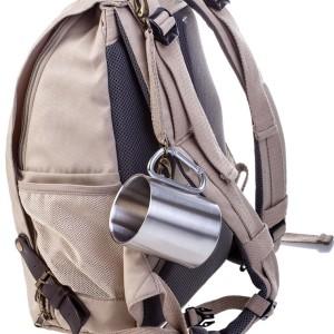 Кружка Carabine 300, с серебристой ручкой-карабином