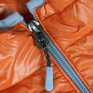 Куртка пуховая мужская Tarner, оранжевая