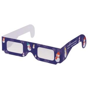 Новогодние 3D очки «Снеговики»
