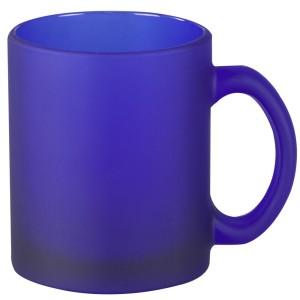 Кружка матовая, синяя