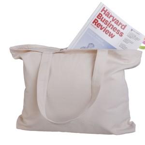Холщовая сумка большая, неокрашенная