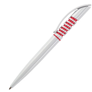 Ручка шариковая, пластик, белый Winner