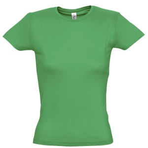 Футболка женская MISS 150, ярко-зеленая