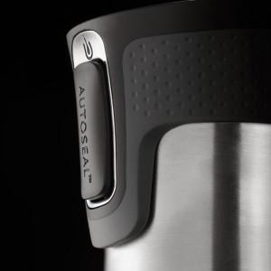 Термостакан Contigo West Loop, вакуумный, герметичный, стальной цвет
