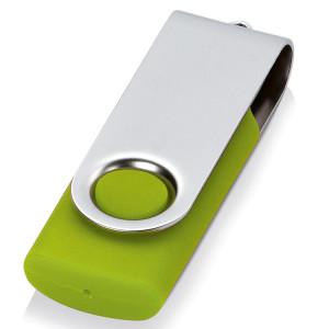 Флеш-карта USB 2.0 8 Gb «Квебек», зеленое яблоко