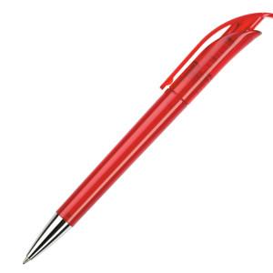 Ручка шариковая, пластик, прозрачный Focus